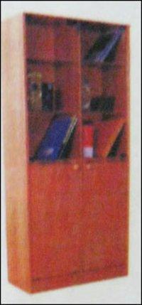 Wooden Office Wardrobe (T 0432)