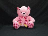Check Teddy Soft Toy