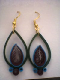 Feather Petal Earring For Women