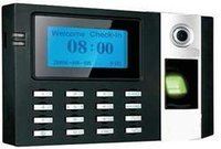 Finger Print With Card Based Time Attendance System