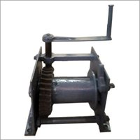 Manual Hand Operated Winch