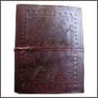 Embossed Leather Photo Album