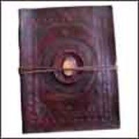 Embossed Stone Leather Photo Album