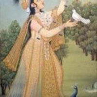 Attractive Mughal Art Painting