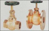 Bronze Globe Wheel Valve