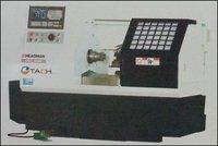 Flat Bed Linear Cnc Lathe Machine (Hcl 300)