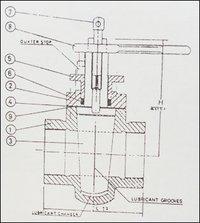 Cast Iron Lubricated Taper Plug Valve