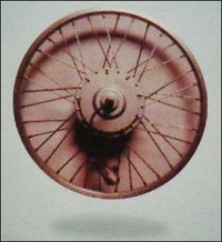 Cycle Wheel With Motor