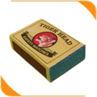 Wooden Match Box (Maxi)