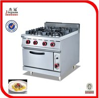 Gas Cooking Range With Oven