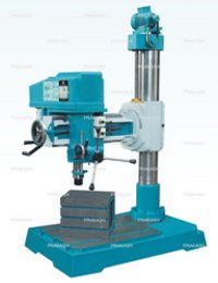 Back Geared Fine Feed Radial Drilling Machine