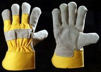 Uni Yellow Canadian Gloves