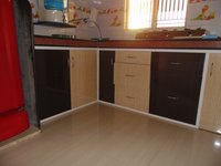 Durable PVC Kitchen Cabinets