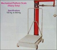 Mechanical Platform Scale (Heavy Duty)