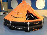 Davit-Launched Type Inflatable Life Raft