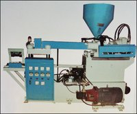 Horizontal Plastic Sole And Shoelace Injection Moulding Machine