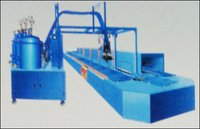 Polyurethane Foam Sole And Link-Upper Pouring Production Machine