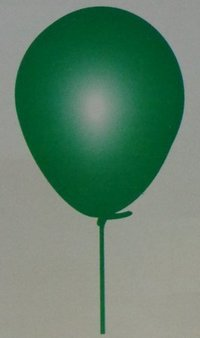 Birthday Party Green Balloons
