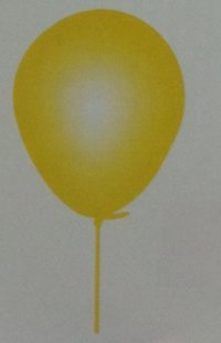 Birthday Party Yellow Balloons