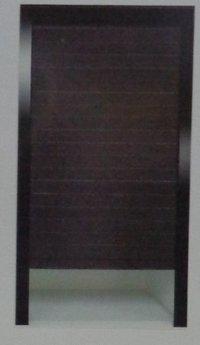 Black Aluminum Roller Shutter