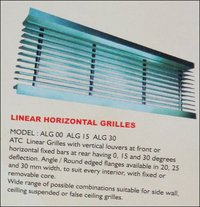 Linear Horizontal Grill
