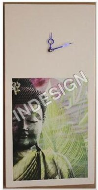 Buddha Painting Wall Clock