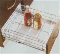 Kitchen Bottle Basket