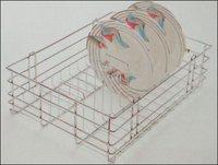 Kitchen Quadro Plate And Thali Basket