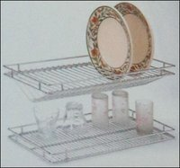 Kitchen Glass Tray And Plate Tray