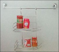 Kitchen Hanging Corner Rack Single And Double