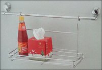 Kitchen Hanging Multipurpose Rack Single And Double