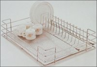 Kitchen Perforated Cup And Saucer Basket