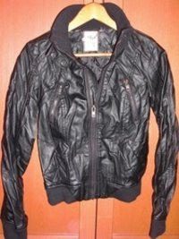 Crumpled Leather Jacket