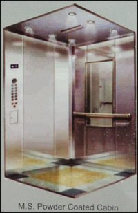 M.S. Powder Coated Elevator Cabin