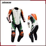 One-Piece Motorcycle Racing Leather Suit