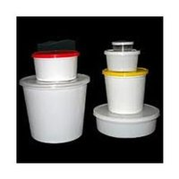 Plastic Round Shaped Containers