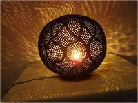 Round Moroccan Table Lamp