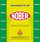 SOBER a   Chlorothalonil 75% WP Fungicides
