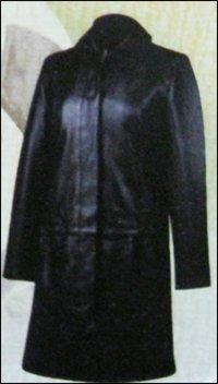 Leather Long Jacket
