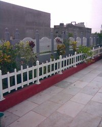 Garden PVC Fencing