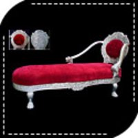 Silver Modern Sofa