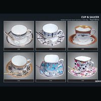 Cafe Cup And Saucer