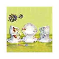 Square Cup And Saucer Set