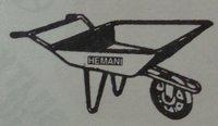 Hi/788 Pan Type Single Wheel Barrow Trolley