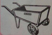 Hi/789 Double Wheel Barrow Trolley