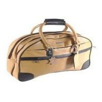 Mens Leather Duffle Bag