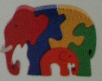 Rubber Jigsaw Puzzle