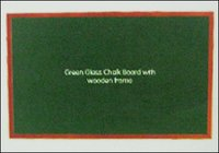 Green Glass Chalk Boards