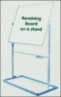 Revolving Board On A Stand