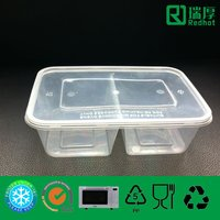 Plastic Container for Food Packing 650ml